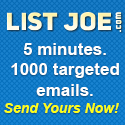 List Joe Safelist Promo Codes